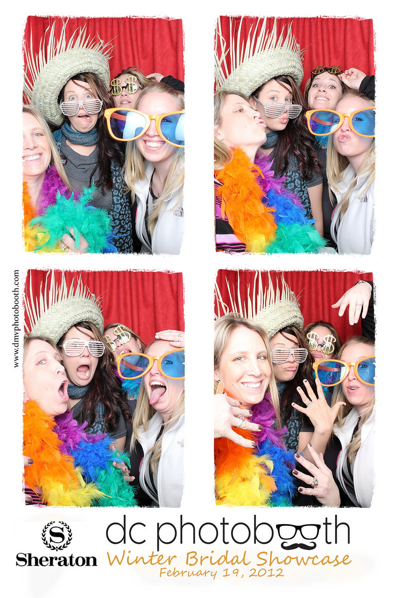 DC Photobooth at the Winter Bridal Show