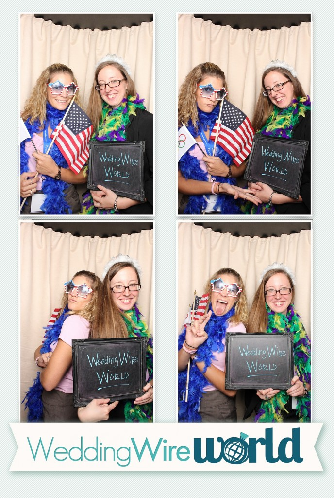 DC Photobooth at WeddingWire World