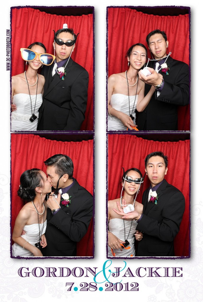 DC Photobooth at Gordon and Jackie's Wedding
